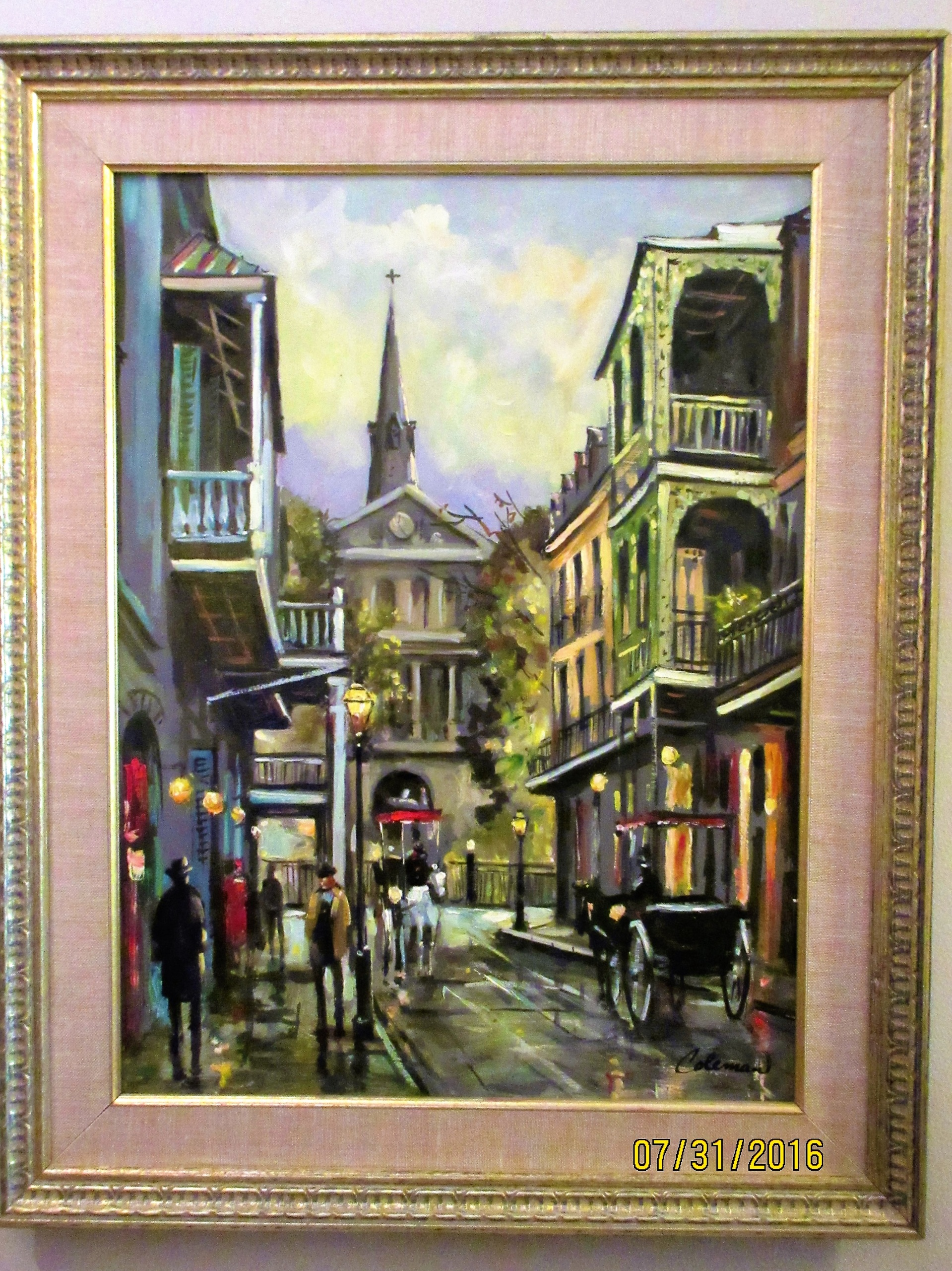 Chick Coleman Original American New Orleans Contemporary